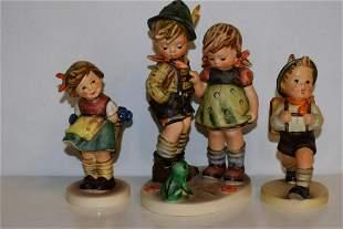 Group of Three W. German Hummel Figurines