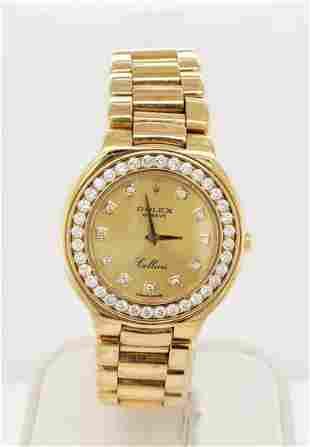 Ladies 18kt Rolex Cellini watch