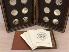 Franklin Mint's Sterling Silver Good Luck Medals