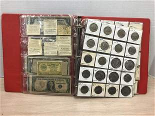 Modern US Coin & Currency Collection in Binder