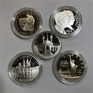 Commemorative Silver $1 Starter Kit of 5 Pieces