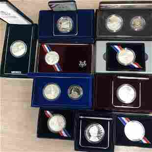 Commemorative Silver $1 Starter Kit of 10 Pieces