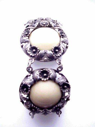 16: Sterling bracelet by N.E. From