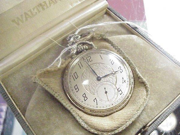 6: Waltham gold-filled pocket watch
