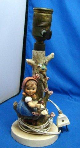 21: Hummel Apple Tree Girl Lamp