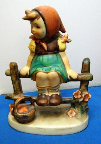3: Hummel Figurine 1970's Just Resting