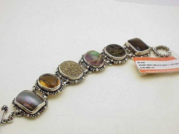 13: Stephen Dweck  sterling bracelet