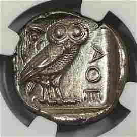 Athenian Owl, c 440-404 BC, Attica, NGC MS 4/4