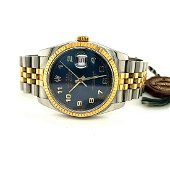 Man's Stainless and 18kt gold Rolex Datejust Watch
