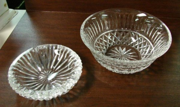 18: Waterford Crystal Bowl & Waterford Ashtray