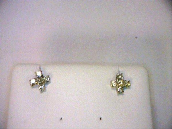 15: .50ctw diamond earrings