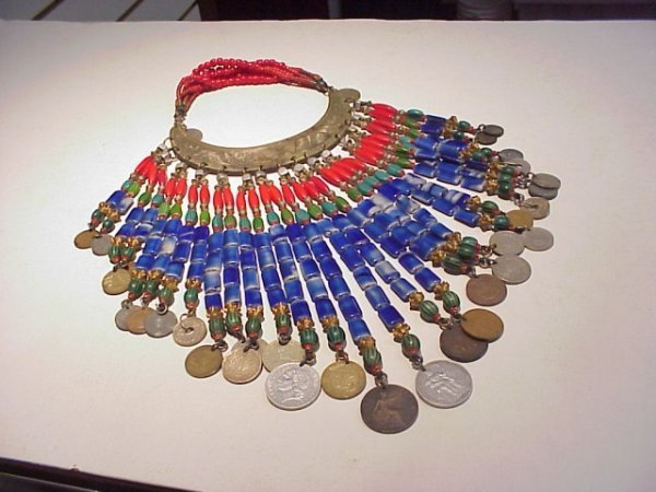 290: Modern copper necklace Masha Archer