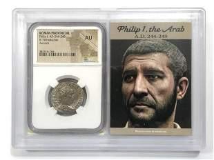 Philip I, AD 244-249, Roman Provincial, NGC AU