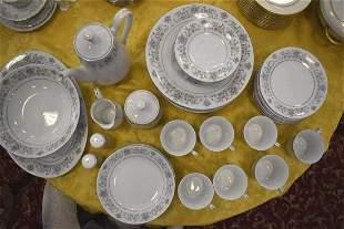 43 pc China Pearl fine china Moonlight pattern