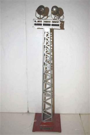 Lionel Prewar Standard Gauge No 92 Floodlight