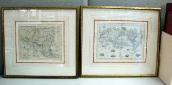 5: Lot of 7 Framed & Matted Oriental Art