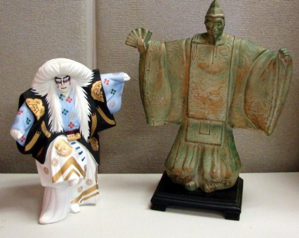 9: Heavy Chinese & Japanese Figurines