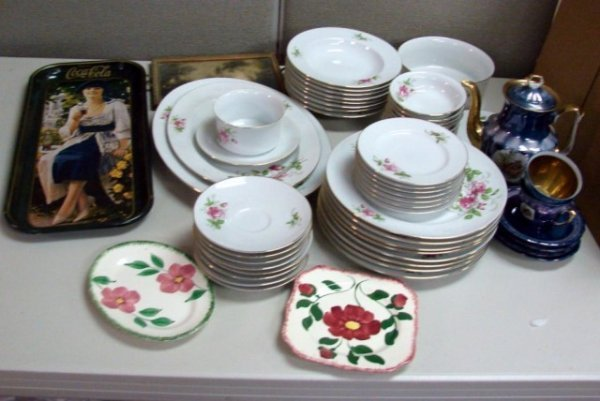18: Johann Havilland Bavarian China ++