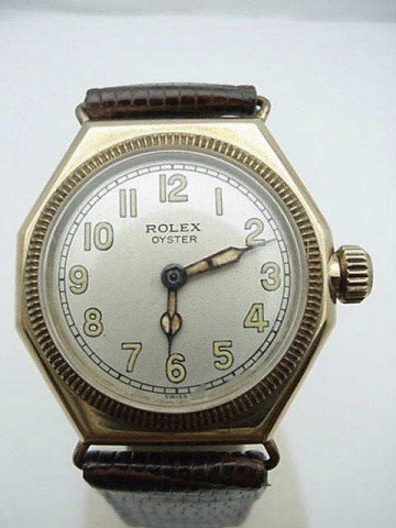 16: Vintage 1920s Rolex Oyster watch