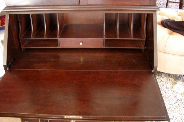 250: Cherry Wood Gov. Winthrop Secretary Desk by Jasper - 3