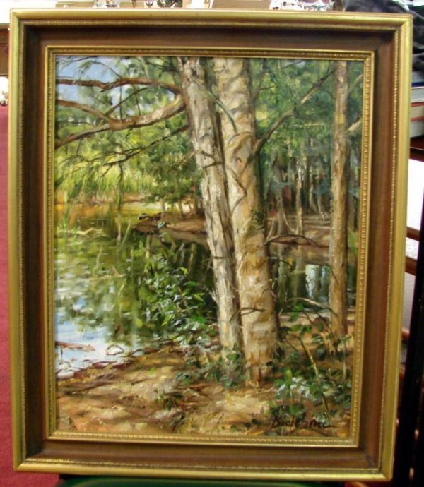 14A: Oil Painting Florida Artist Gregory Biolchini