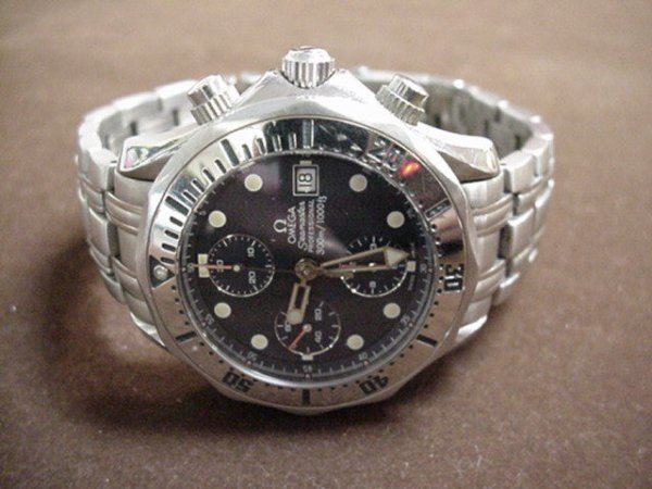 12: Man's Omega stainless Professional watch