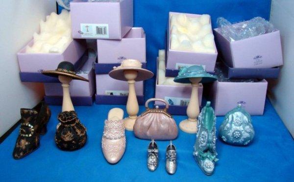 10A: Leonardo Collection: Miniature shoes & bags 9 pcs.