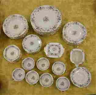 Large Set of Thomas Ivory La Salle Bavarian China
