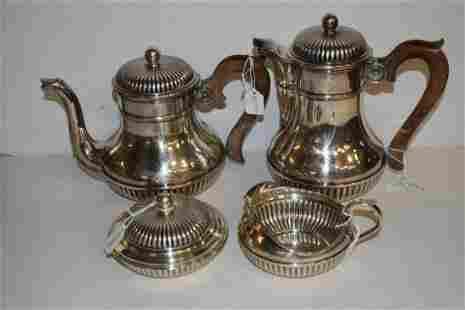 Four Piece Tiffany Sterling Tea/Coffee Service