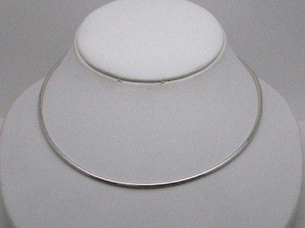 15: 14k reversible 2mm omega necklace