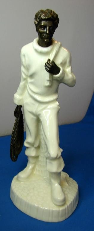 "9: Minton Statue ""The Fisherman"""