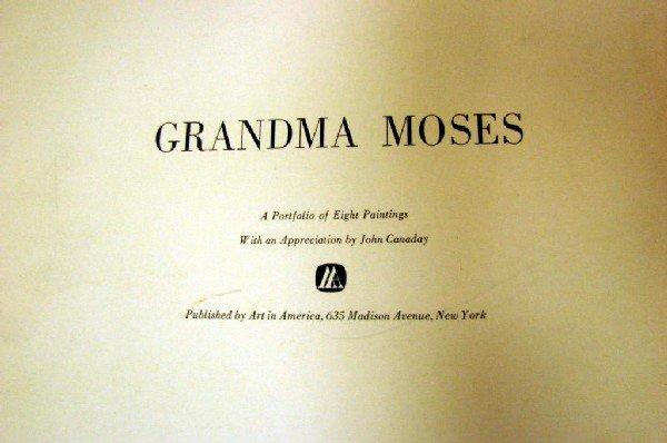 3: Portfolio of 8 Grandma Moses Prints Art in America
