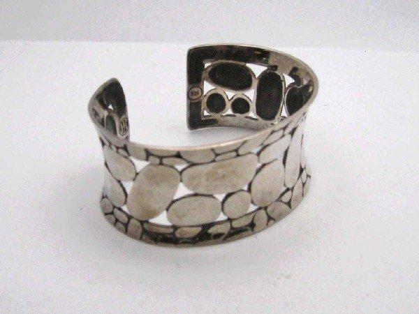 6: John Hardy sterling cuff bracelet