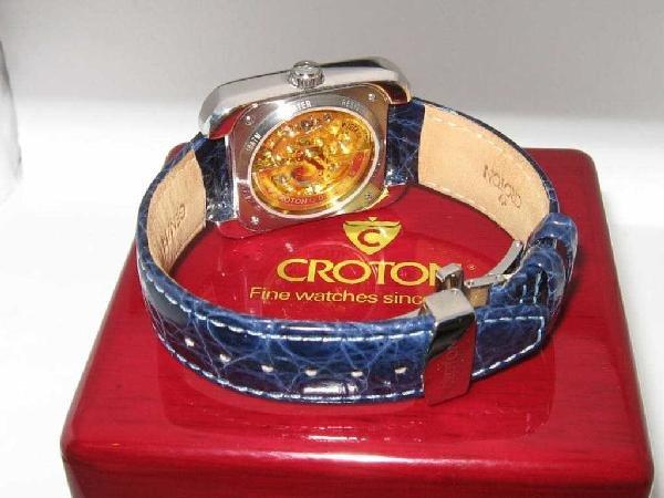 134: Croton diamond and opal watch - 4