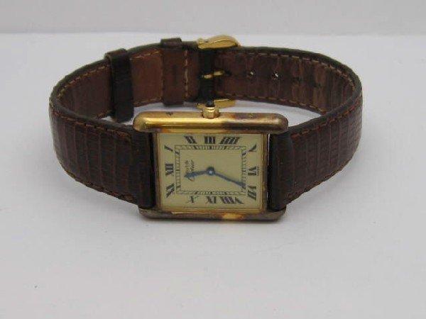 11A: Gentlemen's Must de Cartier Tank watch