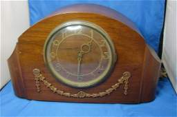 46: Antique Seth Thomas Mantle Clock Westminster Chime