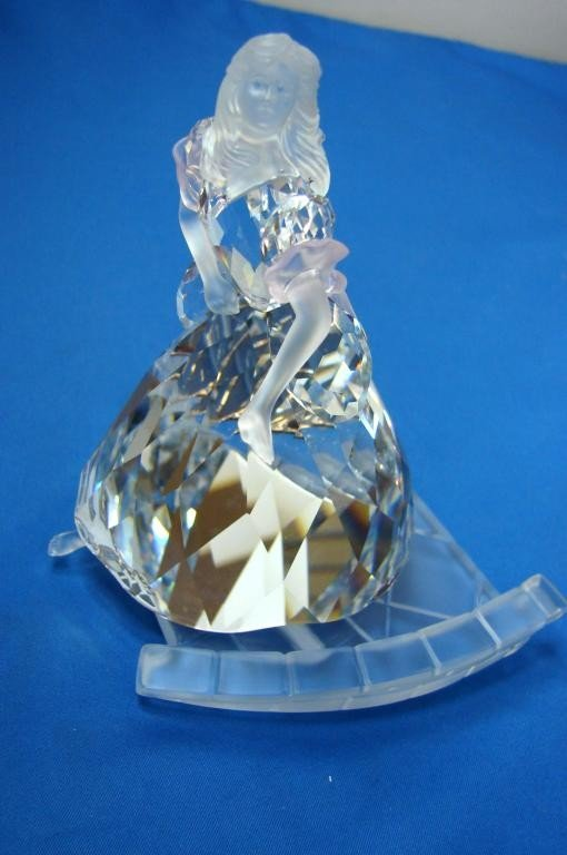 103: Swarovski Cinderella with Glass Slipper Orig. box