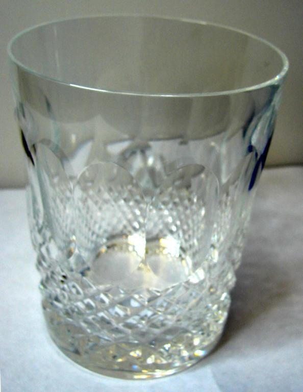 184: 10 Waterford Colleen Double Old Fashioned Glasses