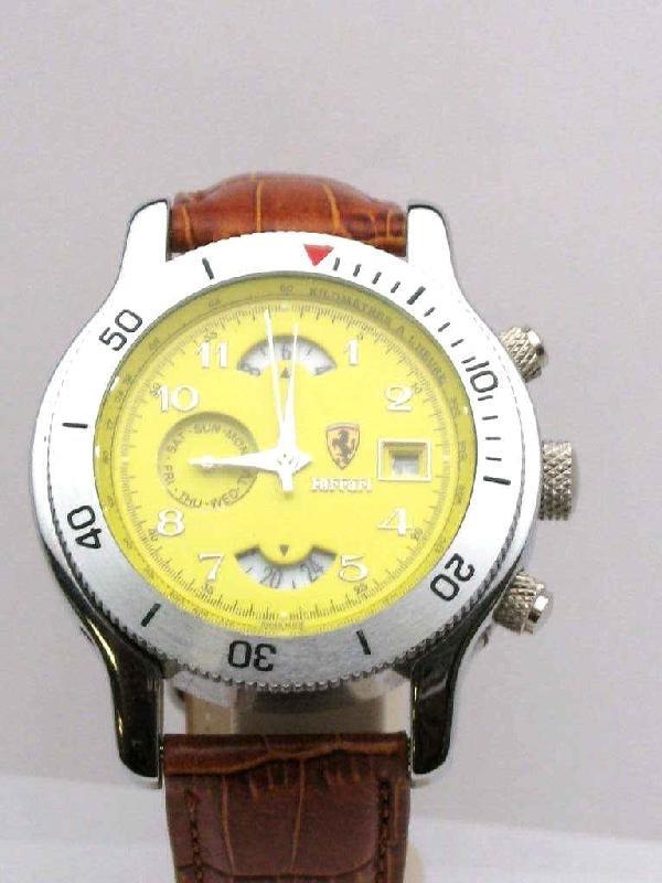 3: Stainless automatic Ferrari watch