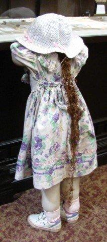 15A: Little Girl Doll Hiding in Corner - Hide & Seek??