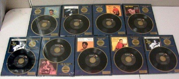 13: 9 Elvis Presley Platinum 45's, Motion Telephone+++