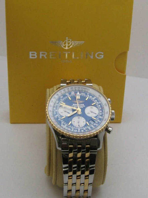 252: Breitling Navitimer Chronograph watch