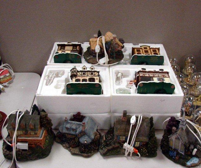 2: 15 Hawthorne Village Houses & Egyptian Figurines