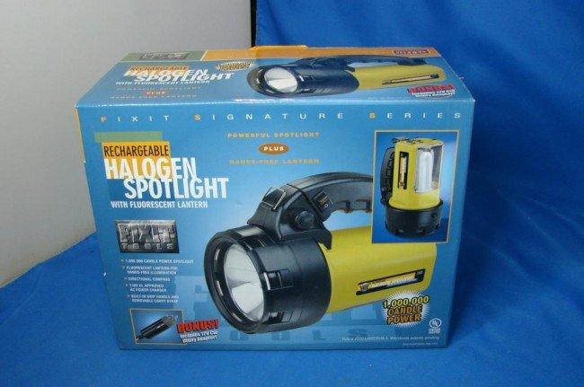 2A: Rechargeable Halogen Spotlight NIB