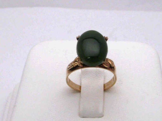16: 18kyg jade ring 3.5grams