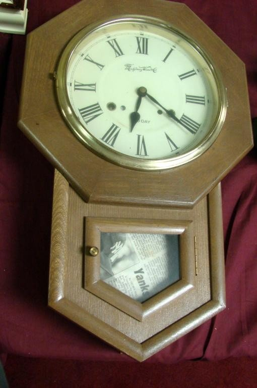 17: 1970's Schoolhouse Clock by Montgomery Ward