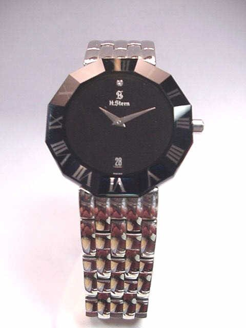 76: H.Stern stainless watch