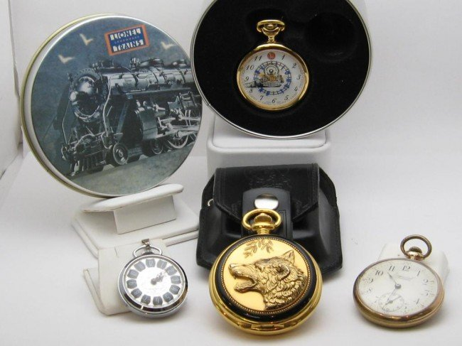 7A: Lot of collectable pocket watches