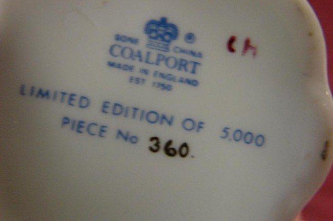 26: Lot of Fine Bone China - Coalport, Royal Doulton - 7