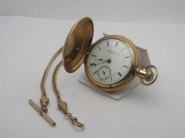 6: Illinois Pocket watch with fob